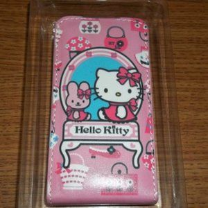 HELLO KITTY CATHY BUNNY LEATHER PHONE CASE